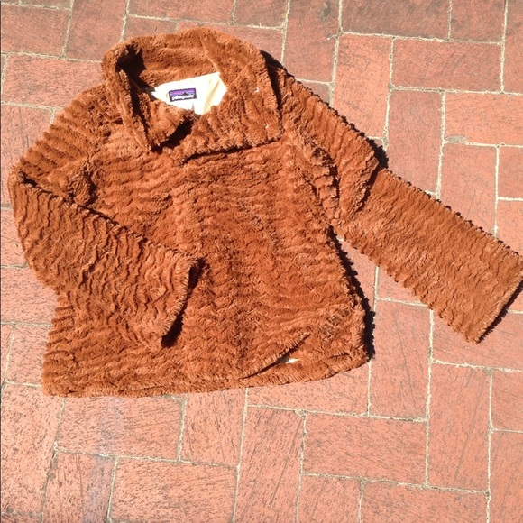 Patagonia Jackets & Blazers - Furry Patagonia Jacket SOFT Cute Sz Small